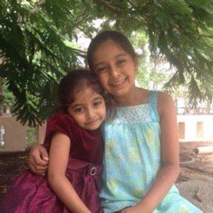 Ahana and Anika Bhat