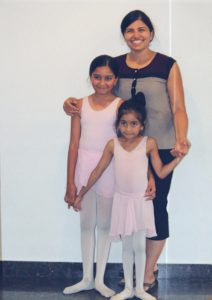 Shilpa, Anika and Ahana Bhat
