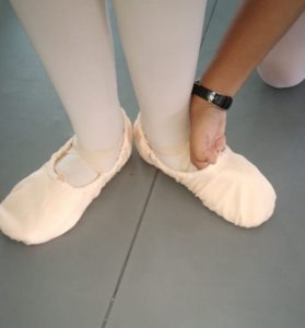 How ballet shoes should NOT fit