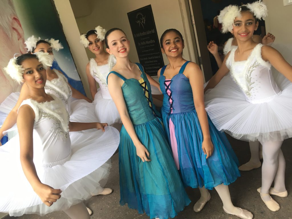 National Youth Ballet backstage