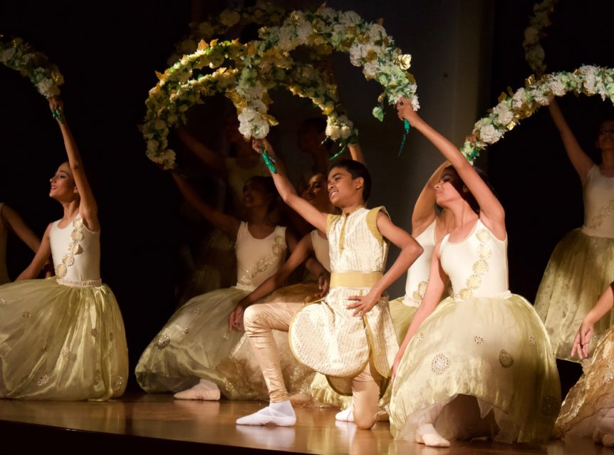 NYB dancers on stage