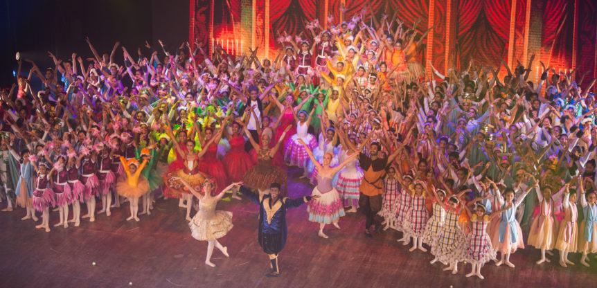 Dancers onstage