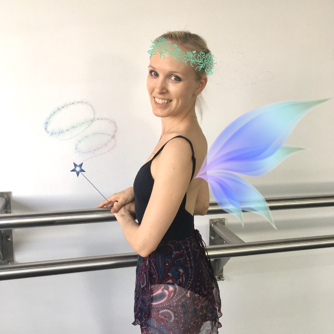 Miss Elina, our real life fairy