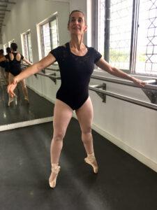 dance mom Irene on pointe