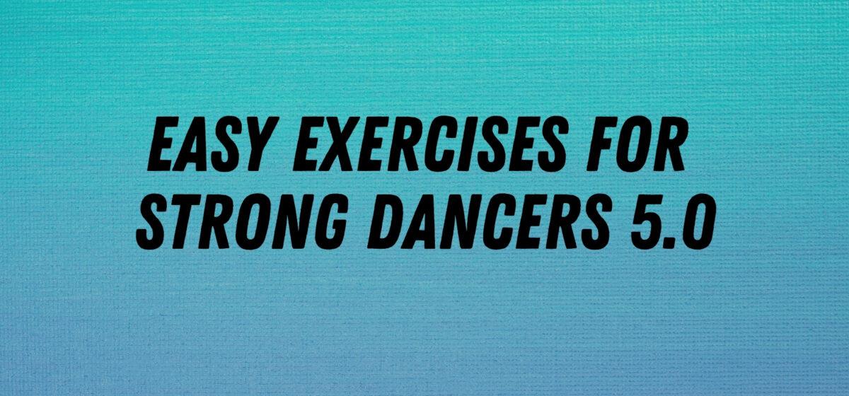 easy exercises arabesque