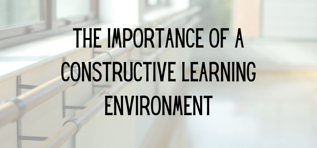 constructive environment